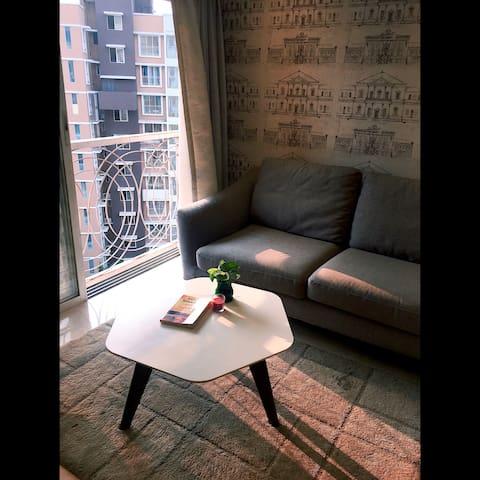 Fully furnished Boutique Apt for 4 guests - BKC