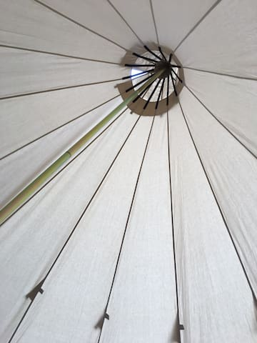 Clean and simple tipi