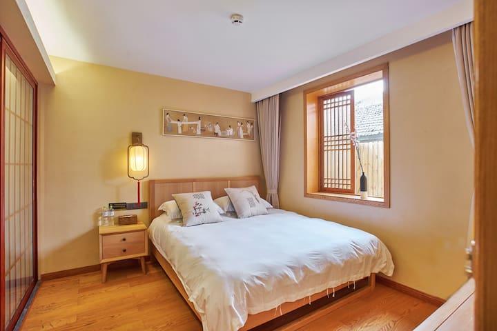 良祝.西湖(宋式文化民宿)暗香(大床) - Hangzhou - Bed & Breakfast