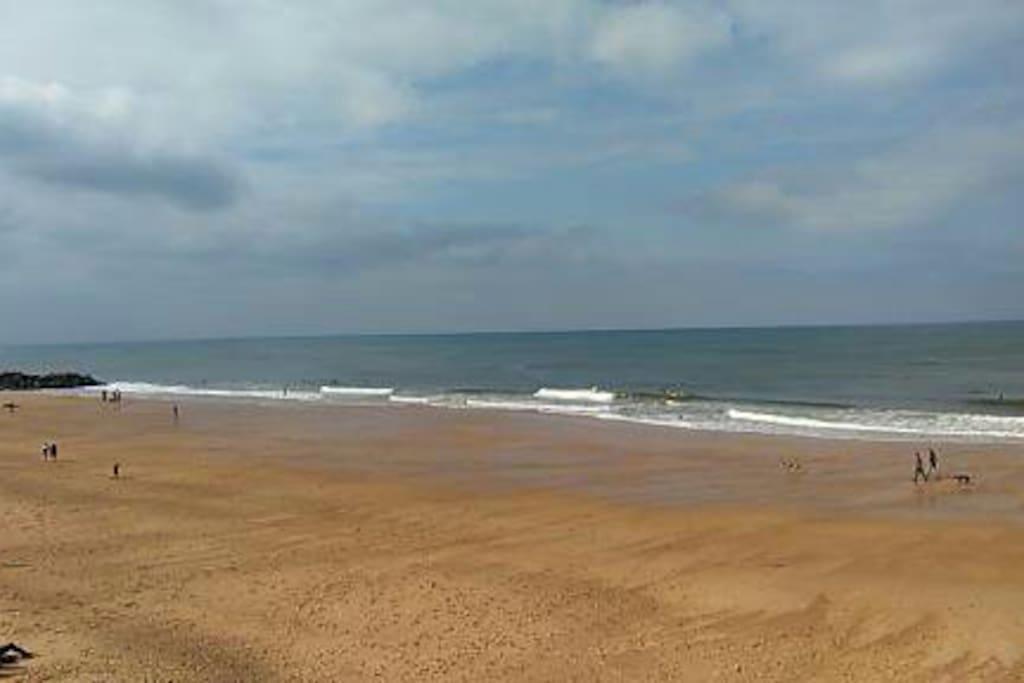 plage océanique