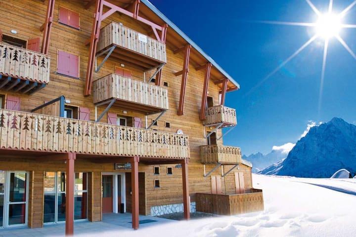 Bel Appt****sur les pistes,piscine,hammam,sauna... - Saint-Lary-Soulan - Apartment