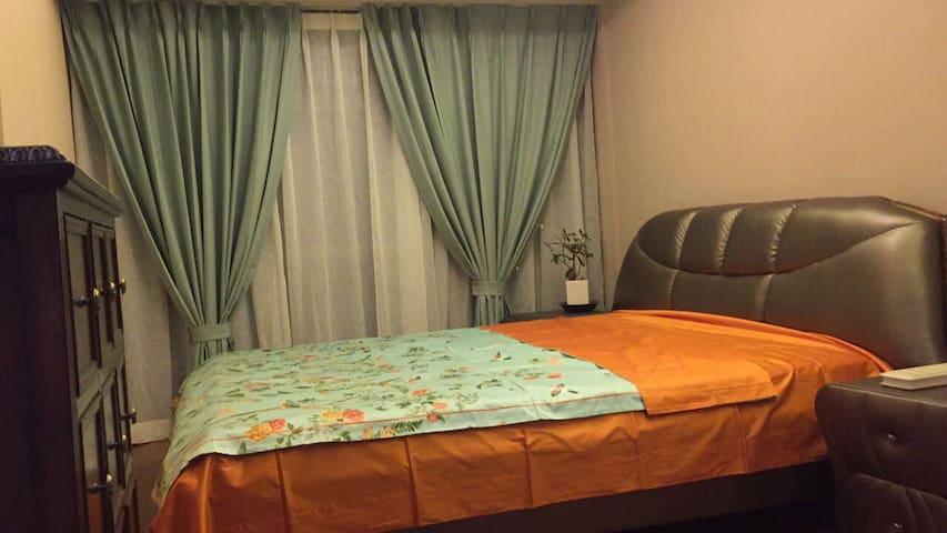 落地窗,双人床,还有独立卫生间 - 北京 - Appartement