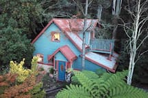 Set among towering mountain ash and tree ferns, Wild Orchid Olinda is a Private self-contained cottage in the Dandenong Ranges Victoria, Australia.  The perfect place to have some time out, retreat into nature - recharge and relax.
