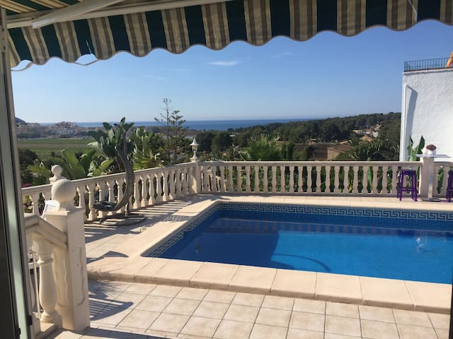 Villa moraira sea view near beach - Teulada - Apartment