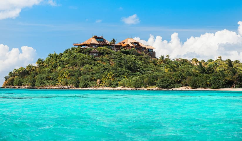 Necker Island Great House Master Suite and Great House Rooms