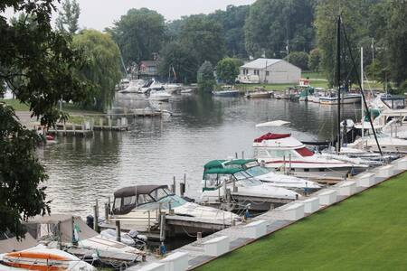 Black River Condo in South Haven - South Haven