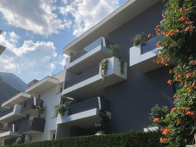 """Holiday home Riva del Garda """"Residence dei Tigli"""""""