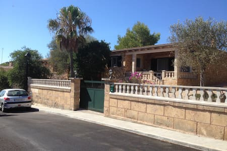 House at Cala Llombards, 2 minutes from the beach - Cala Llombards - Rumah
