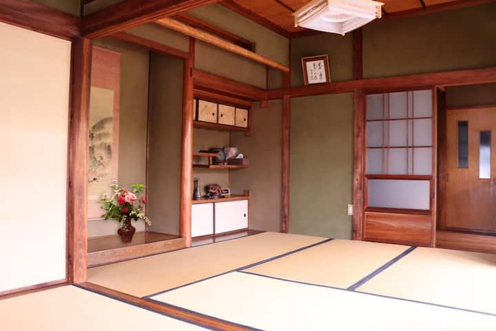 Near Naoshima★Tasteful Japanese house/TATAMI&FUTON