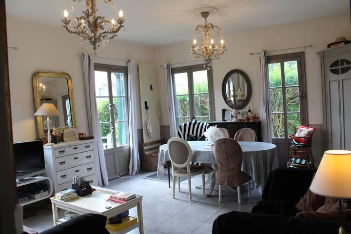 Charmante Villa style Normand à 4kms de Deauville