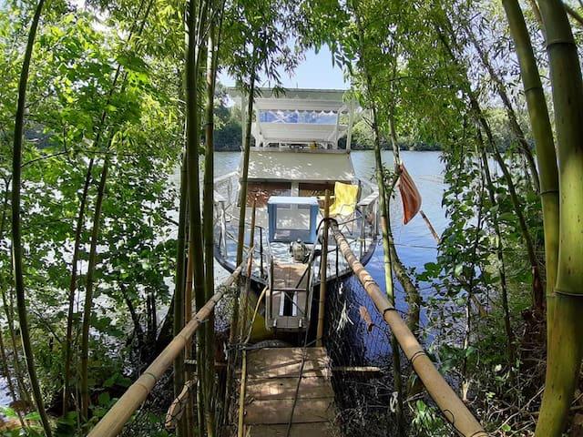 Le Tijalopi gîte bateau
