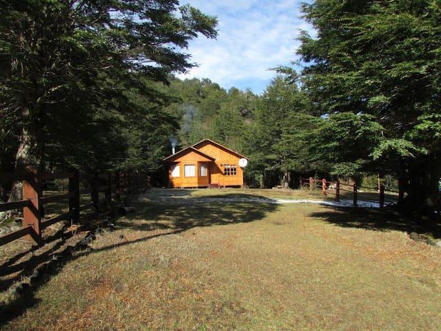 Cabaña a 2 km de Parque Villarrica cerca de Termas - Coñaripe