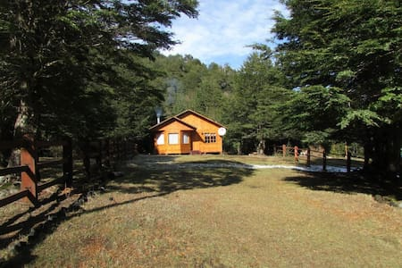 Cabaña a 2 km de Parque Villarrica cerca de Termas - Coñaripe - Natur-Lodge