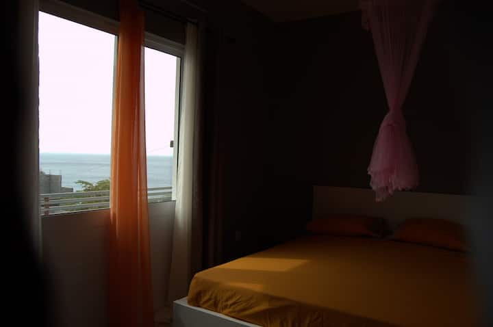 Dunas_Areia Preta - Quarto 1 Vista Mar