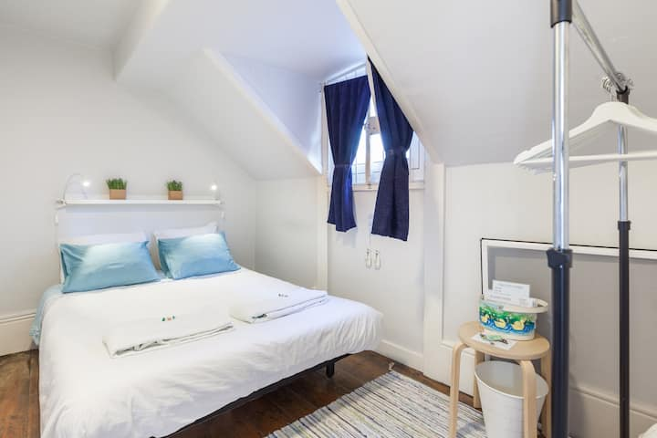 Charming attic with double bedroom!