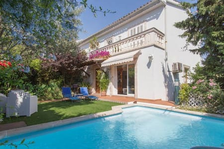 B&b with office, garden and pool - Palma de Mallorca