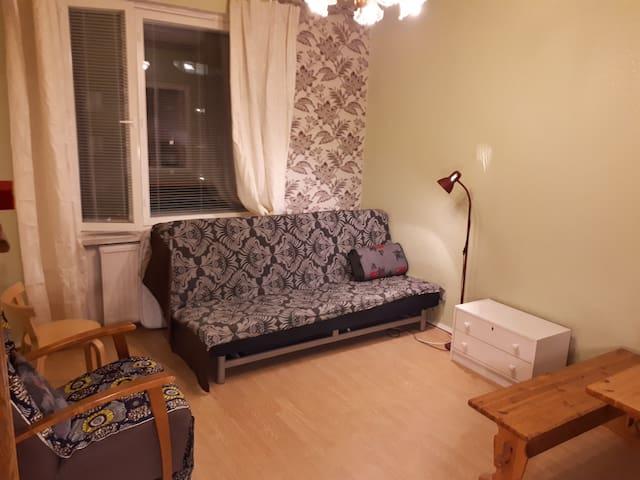 Quiet room in a shared apartment in Kallio