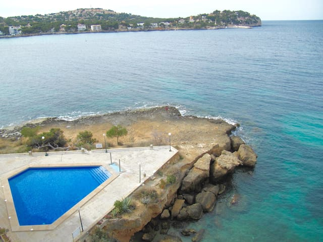 Amazing apartment on the coast line - Rotes Velles - Apartment