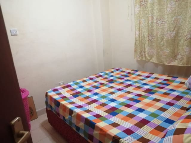 There is an extra mattress that can be used in the living room space as well.