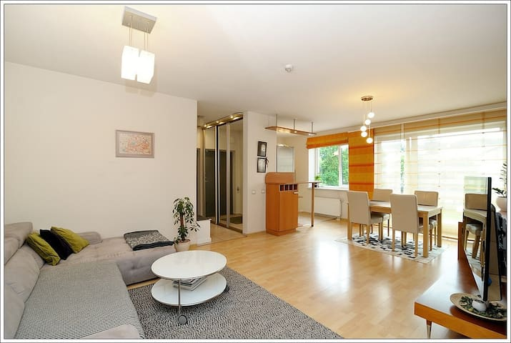 Sunny apartment in a city center