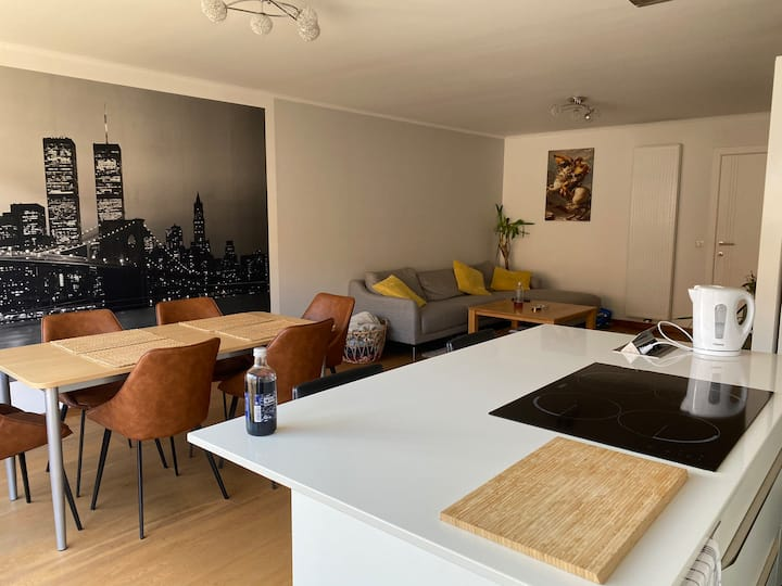 Modern appartement in centrum Deinze aan de Leie