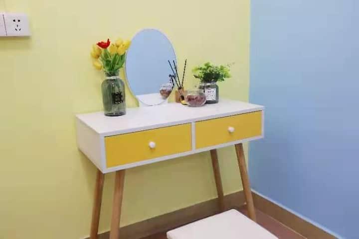 广州南站舒适空间大床房,独立卫生间