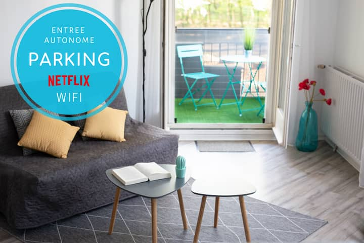 ★ COSY'APPART @ Evry ★ PARKING ★ NETFLIX