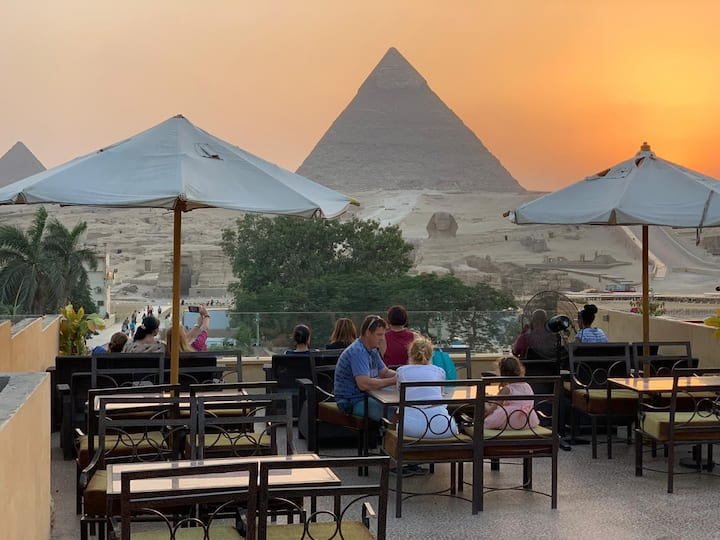 Giza Pyramids View-Standard Apartment 2 Queen Beds