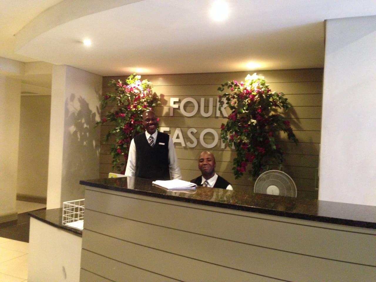 Friendly Reception