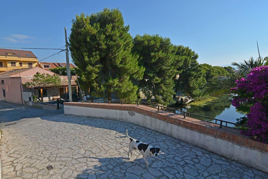 Il ponticello sul Canale Margi