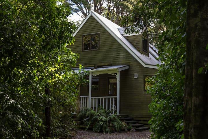 Birdsong Cottage - native forest retreat
