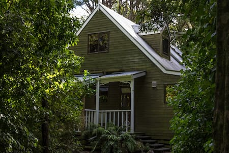 Birdsong Cottage - native forest retreat