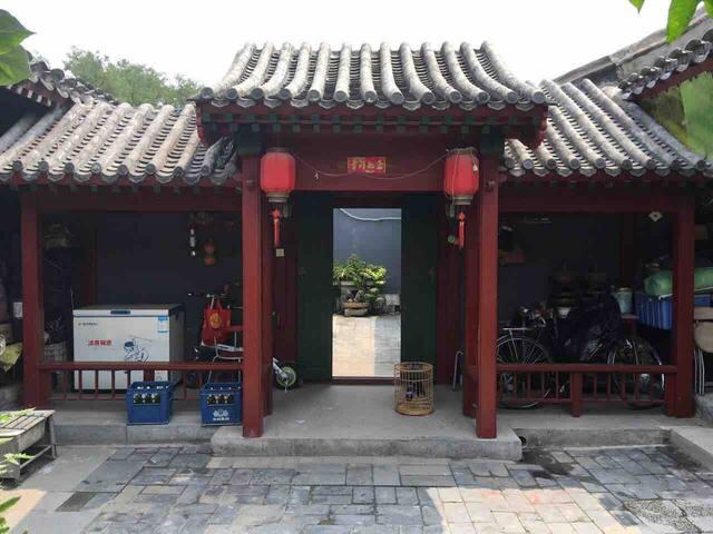 前门,天安门,故宫老北京四合院三