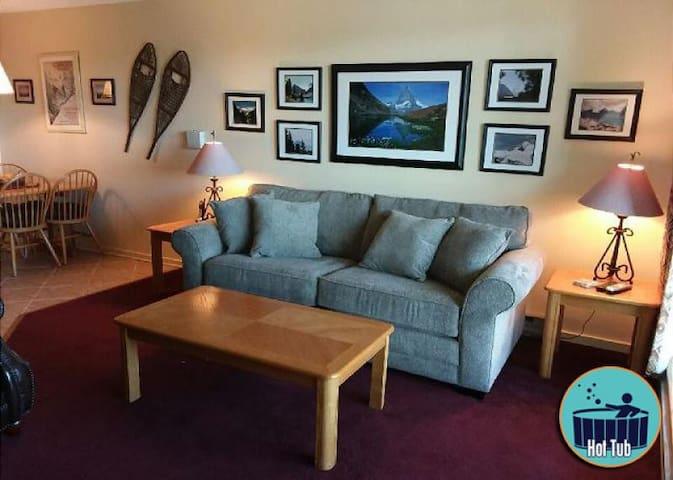 Located on Killington Mtn. on shuttle route w/ on-site sport center