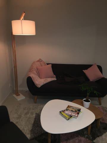 Petit appartement spacieux et confortable