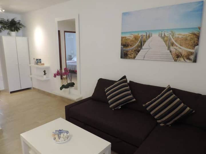 Apartament Blue Turtle well located, with terrace, close to the beach
