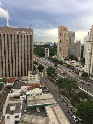 Excelent localization: Ibirapuera and Paulista ave - เซาเปาโล - อพาร์ทเมนท์