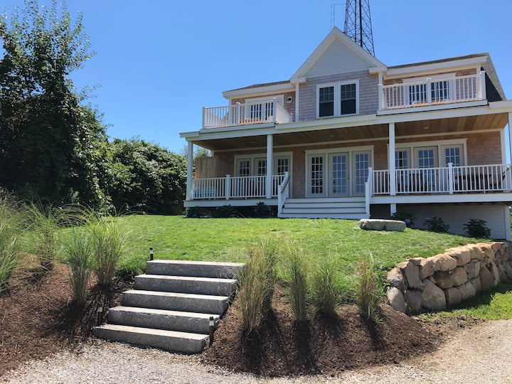 Brand New Ocean View Home with Central AC
