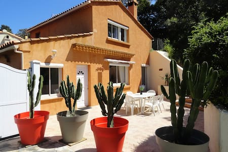 A nice and affordable villa (Gulf of St-Tropez) - Rayol-Canadel-sur-Mer - 独立屋