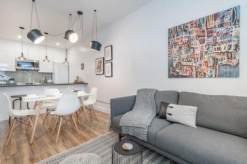 Appartement  stylisé et moderne - rabais au mois
