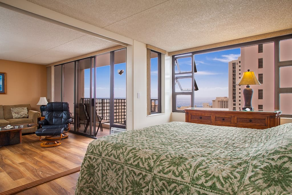 2806 Waikiki Banyan Ocean View 1 Bedroom By Beach