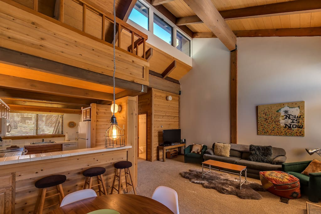 Great room with small loft