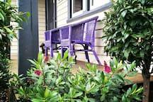 Relax on the front verandah.