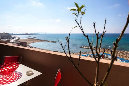 APART. VIEW AND BEACH FRONT (A 30 MT FROM THE SEA) - Trapani