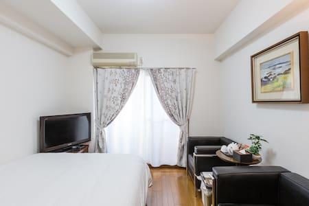 Cozy room 4 mins Karasumaru station & free WiFi - Shimogyo Ward, Kyoto - Dům pro hosty