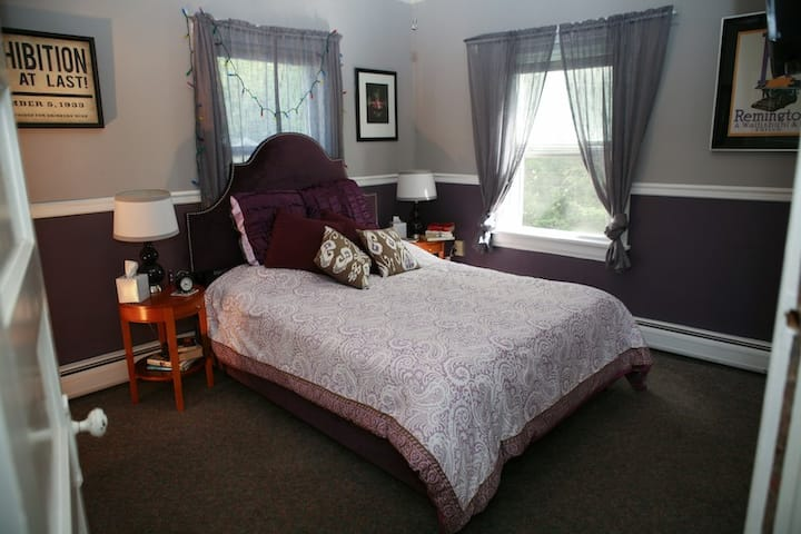 "Fox Hill B & B:""Euphrosyne suite""  2 rms & p bath"