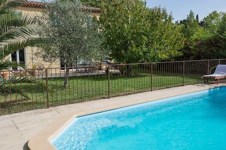 Villa au calme avec jardin et piscine - 阿洛 (Allauch) - 独立屋