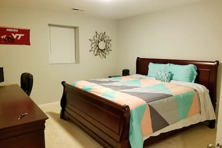 Spacious Basement With Living Area!