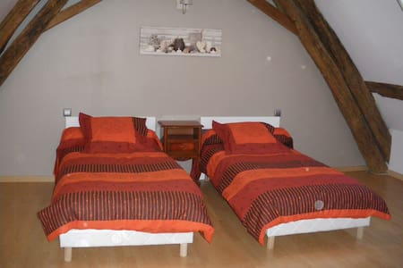 Chambre Terracotta - Mosnay - Guesthouse