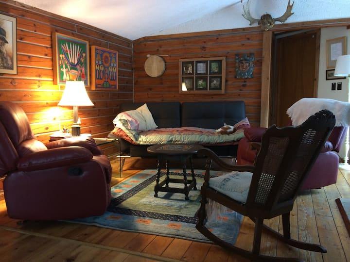 Red Spirit Retreat Cabin